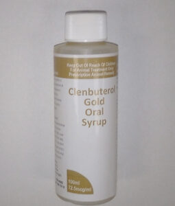 Clenbuterol Gold Oral Syrup 72.5mcg/ml 100ml